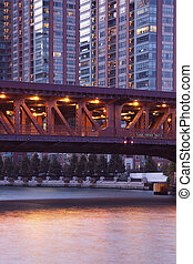Bridge on Lake Shore Drive