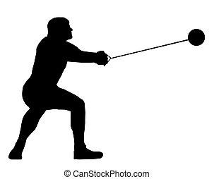 Male Hammer Thrower