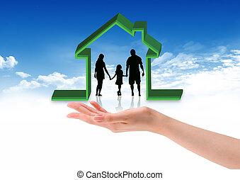 idea artwork for HOME building