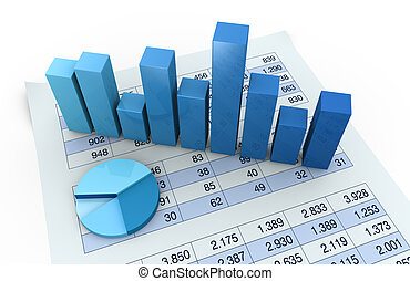 charts and spreadsheets - lot of numbers in a spreadsheet...