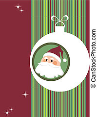 christmas greeting card, template
