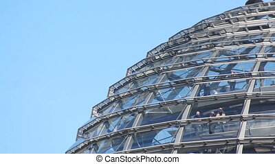 Reichstag roof, Berlin, Germany