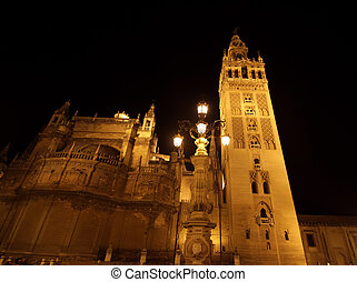 historical building - historic building in the night sky,...