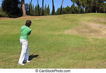 Golf chip