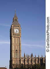 Big Ben seen from Pariament Square