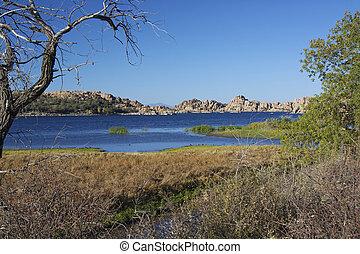 Watson Lake Landscape - a scenic landscape of watson lake...