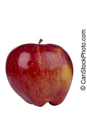 Jonathan Apple - Red Jonathan apple isolated on a white...