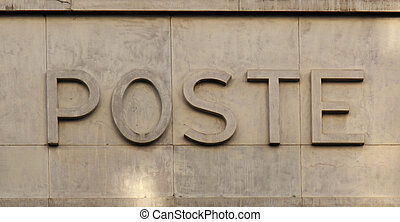 Poste - a french post office