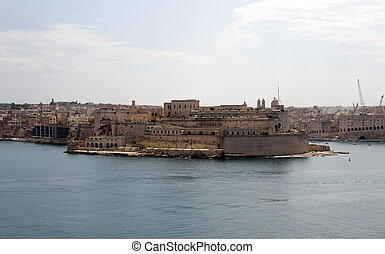 Valetta Harbour - Valetta harbour the main city of Malta