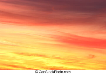 Colorful sky texture