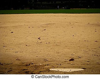 softball field - a softball field in the park