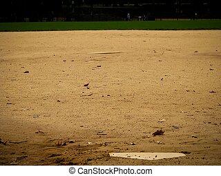 壘球, 領域