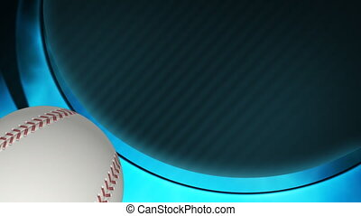 Baseball Text Friendly Looping Animated Background