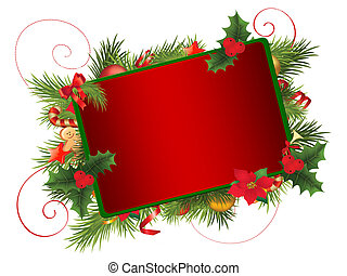 Christmas frame - Background
