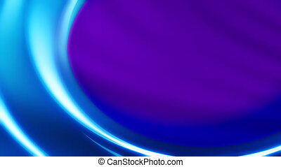 Blue Waves Looping Background