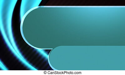 Template Style Looping Blue