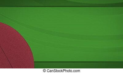 Football Green Loop