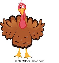 turkey for thanksgiving day - vector turkey clipart for...
