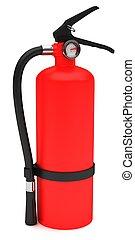 赤, 火, 消火器
