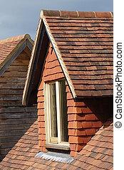 Dormer Window - Dormer window on roof