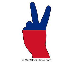 Liechtenstein hand signal