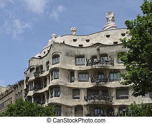 """Casa Mil - strange and surreal building named """"Casa Mil"""