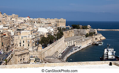 Valetta the capital of the island Malta