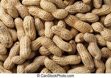 peanuts - Close-up of some peanuts background