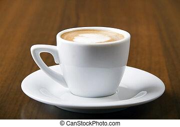 Macchiato espresso coffee
