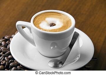 Caffè macchiato espresso