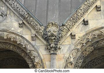 Kaiser Wilhelm Gedauml;chtniskirche detail - sculptured...