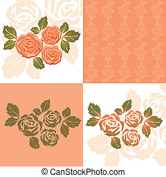 Orange Roses Wallpaper Icon