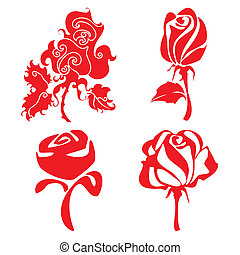 Red Roses sign