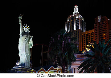 New York-New York hotel casino - LAS VEGAS - SEPTEMBER 19:...
