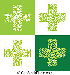 green cross - medical symbol