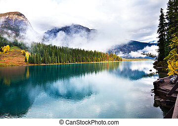 Emerald Lake - Emerald lake Yoho National park Alberta...