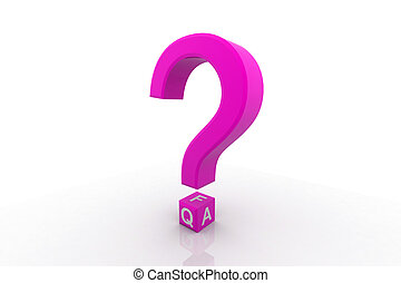 Frequently Asked Questions symbol