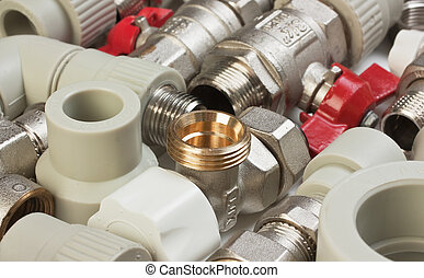plumbing fittings - Set plumbing fittings