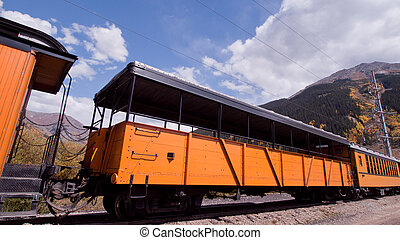 Narrow Gauge Train - Durango to Silverton Narrow Gauge...
