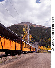 Narrow Gauge Train - Durango to Silverton Narrow Gauge Train...