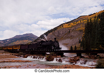 Iron Horse 486 - Steam locomotive engine This train is in...