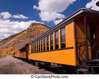 Narrow Gauge Train - Durango to Silverton Narrow Gauge...