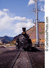 Iron Horse #486 - Steam locomotive engine. This train is in...