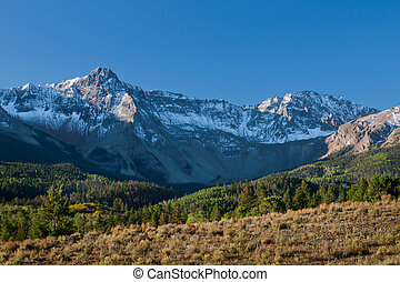 Dallas Divide in Autumn - The Dallas Divide is a Colorado...