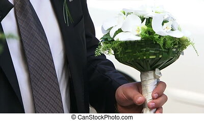 Bouquet for the bride - Groomsman is the wedding bouquet....