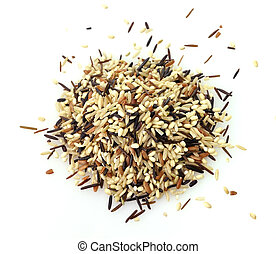 wild rice blend - a gourmet blend of wild and whole grain...