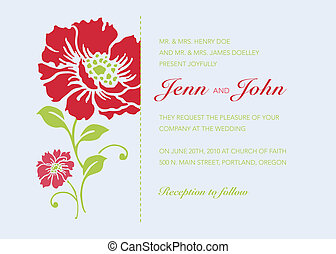 Vector Bright Floral Background and Frame