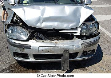 Urban car crash