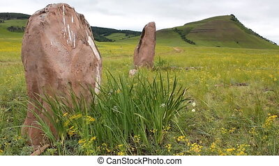 Stones 19 - The great stone circle.