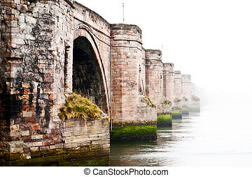 Old road bridge, Berwick-upon-Tweed